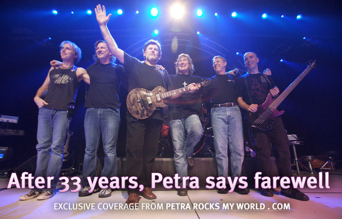 After 33 years, Petra says farewell